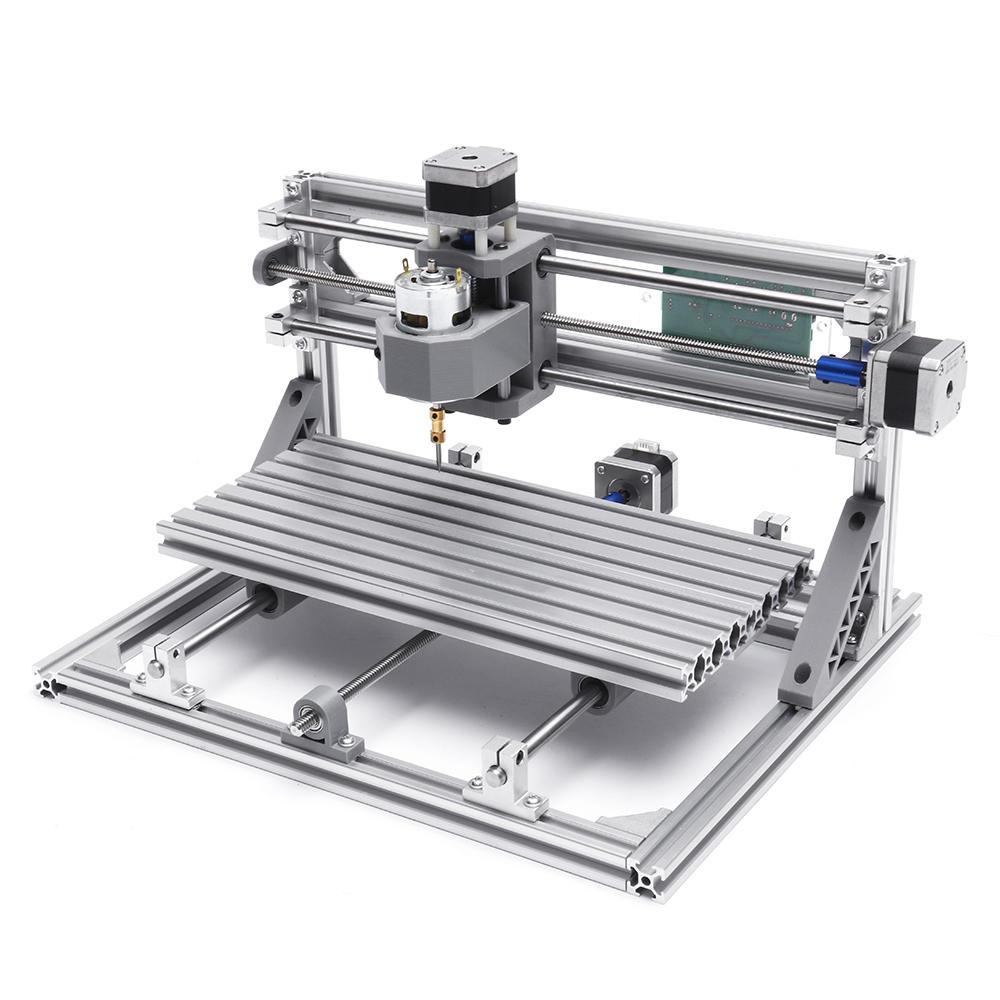 Mini frezarka CNC 3018 (drewno, akryl, miękkie aluminium, PCB) @ Banggood