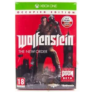 Gra Xbox Wolfenstain THE NEW ORDER OCCUPIED EDITION PL