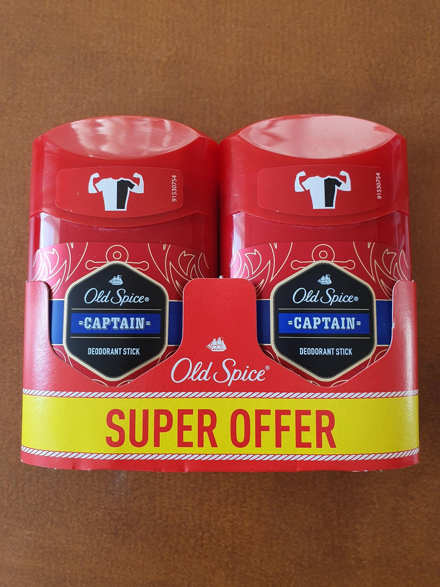 @Rossmann - męski dezodorant w sztyfcie Old Spice, 2-pak