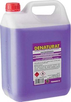 Denaturat 5 L, fioletowy lub bezbarwny, promocja w Selgros od 19.marca