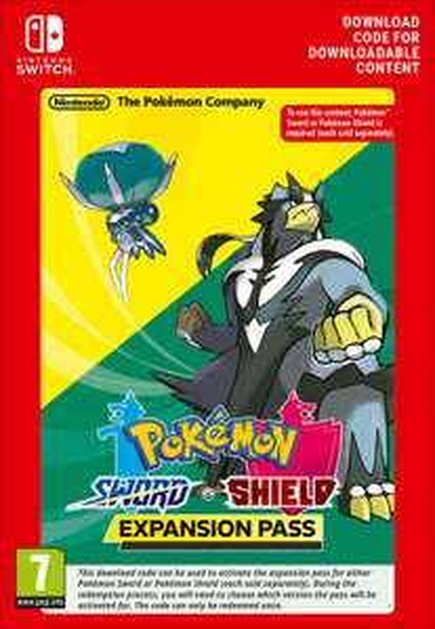 Expansion Pass do Pokemon Sword/Pokemon Shield @ Switch