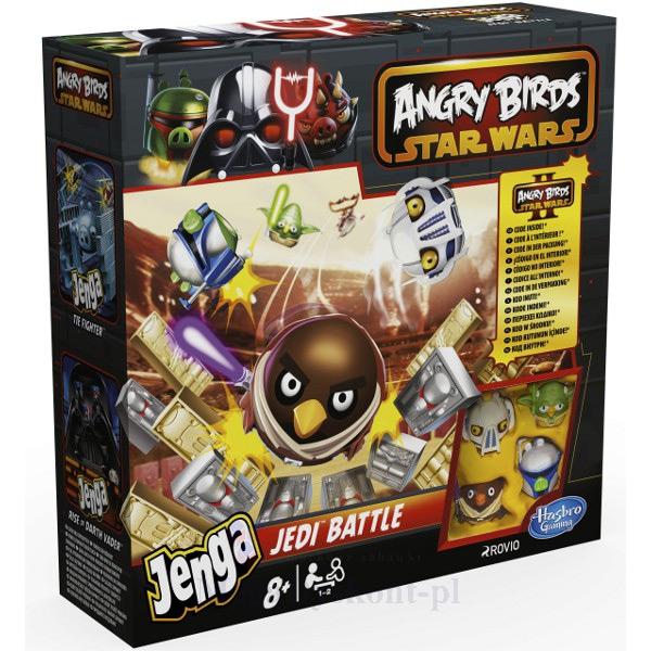 Gra Angry Birds Star Wars - Jenga Bitwa Rycerzy Jedi za 24,46zł @ Megadyskont.pl