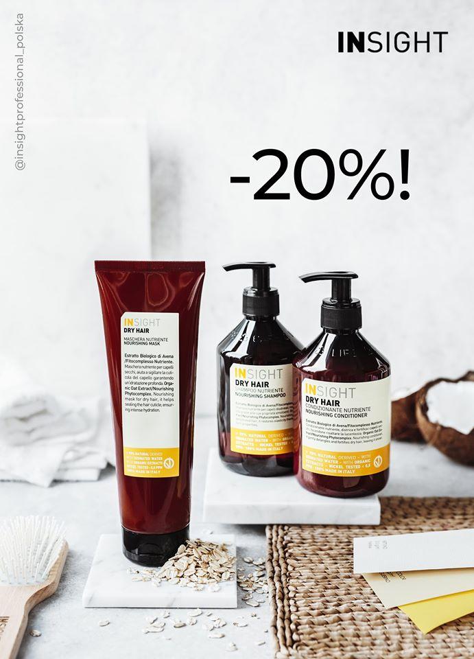 -20 na naturalne kosmetyki do włosów Insight