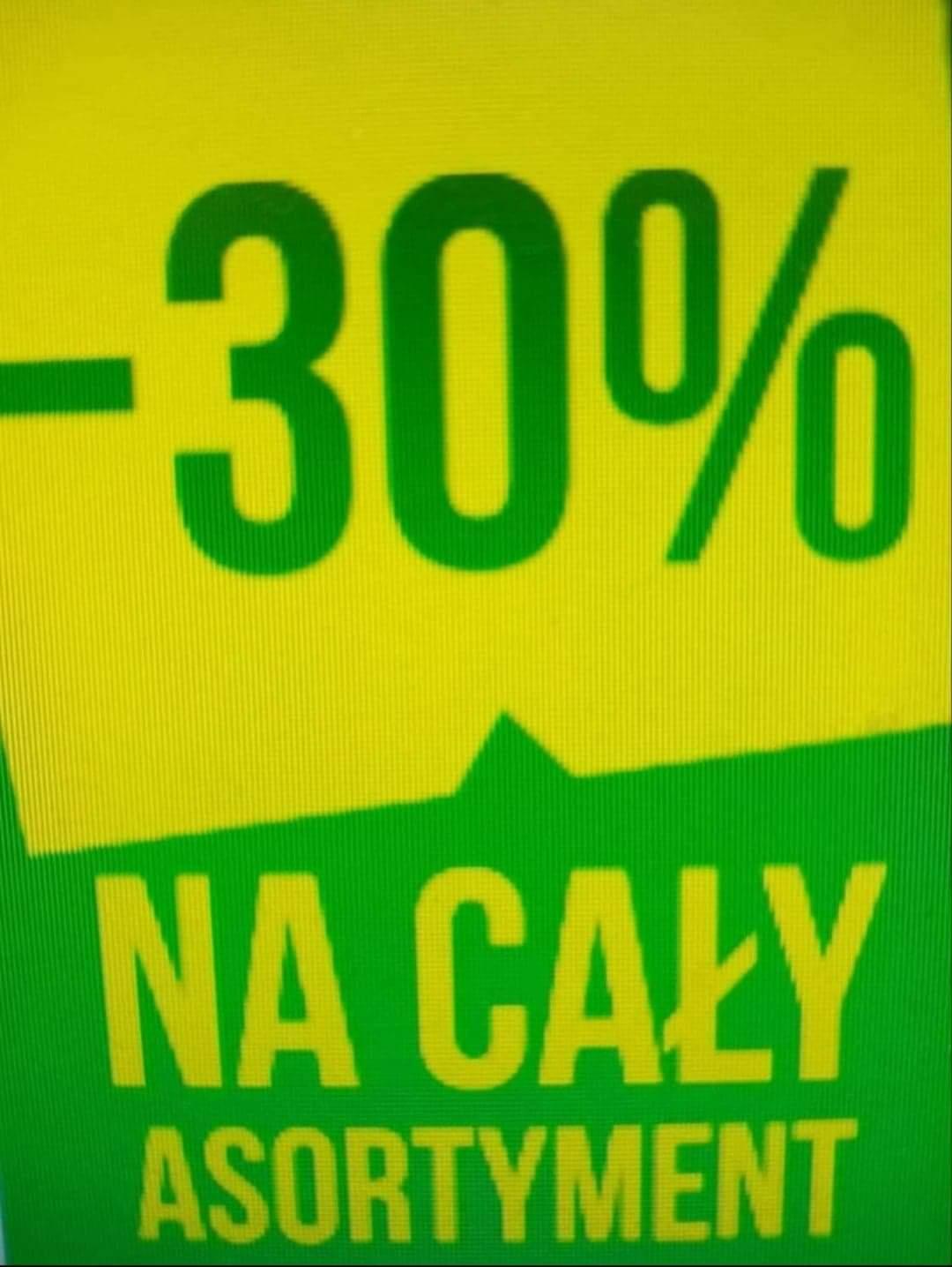 -30% na cały asortyment w PEPCO