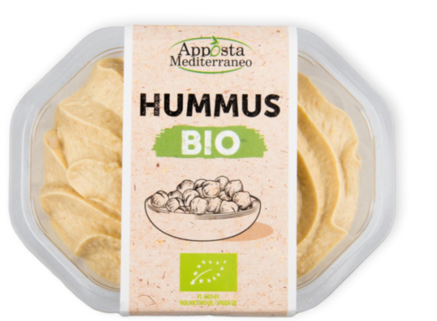 Hummus BIO Apposta Mediterraneo Lidl