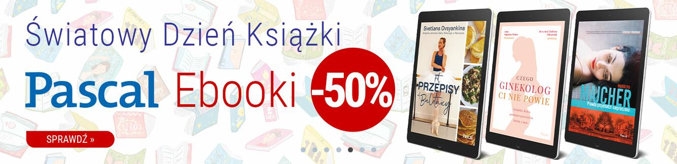-50% na ebooki wydawnictwa Pascal @ Inverso