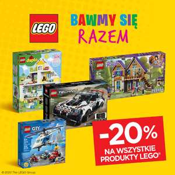 Lego -20% @mas.com.pl