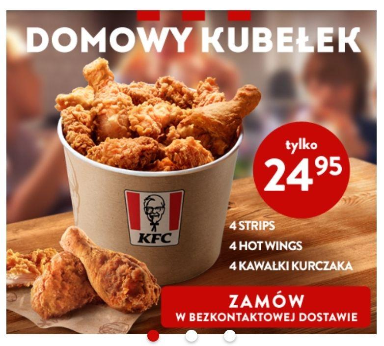 KFC Kubełek domowy.