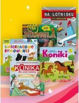 Pakiety książek dla dzieci w promocyjnej ofercie