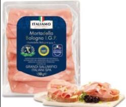 Prawdziwa Włoska ( 97% mięsa ) Mortadela Bologna Lidl 150g za 1.99zł ( 1kg: 13,27zł )