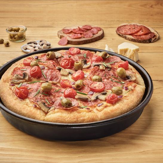 Duża Pepperoni Super Supreme za 30,99zł @ aplikacja Pizza Hut