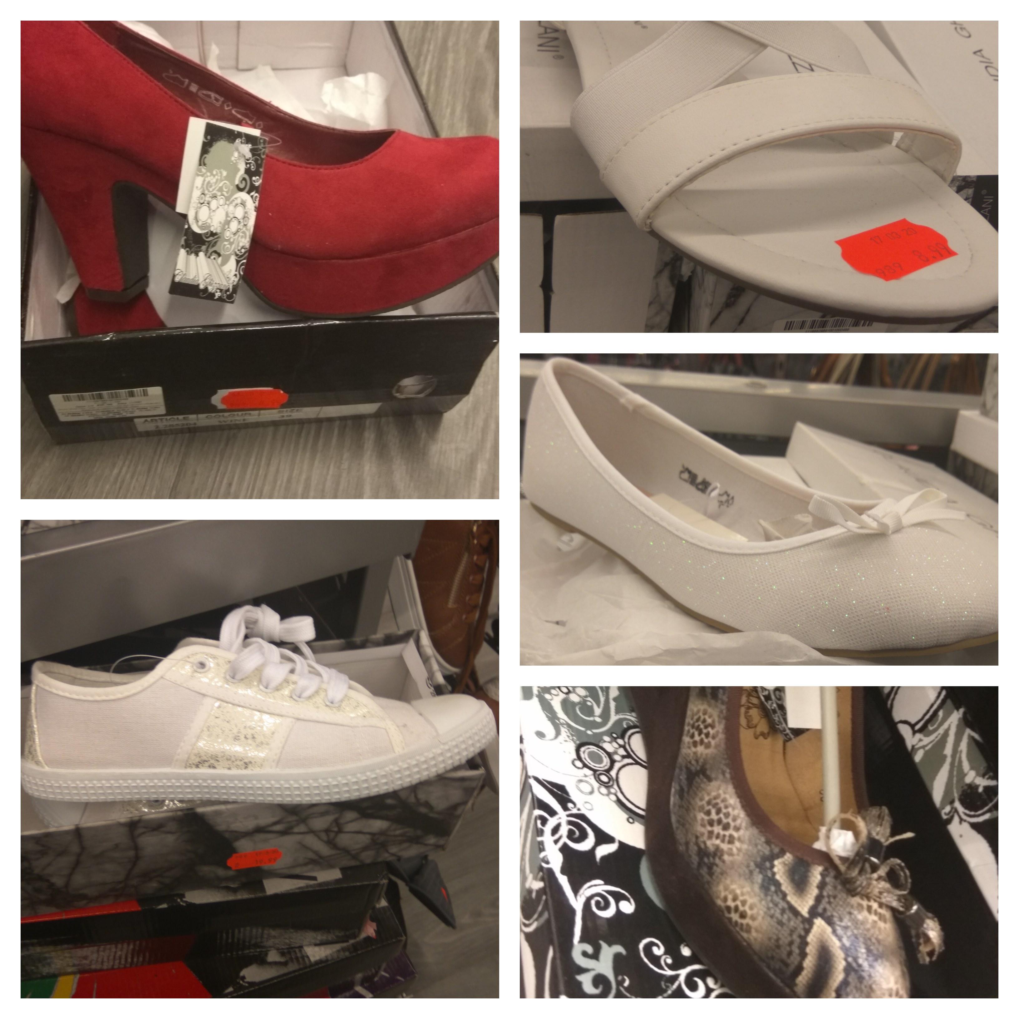 Buty damskie, różne rodzaje - KIK