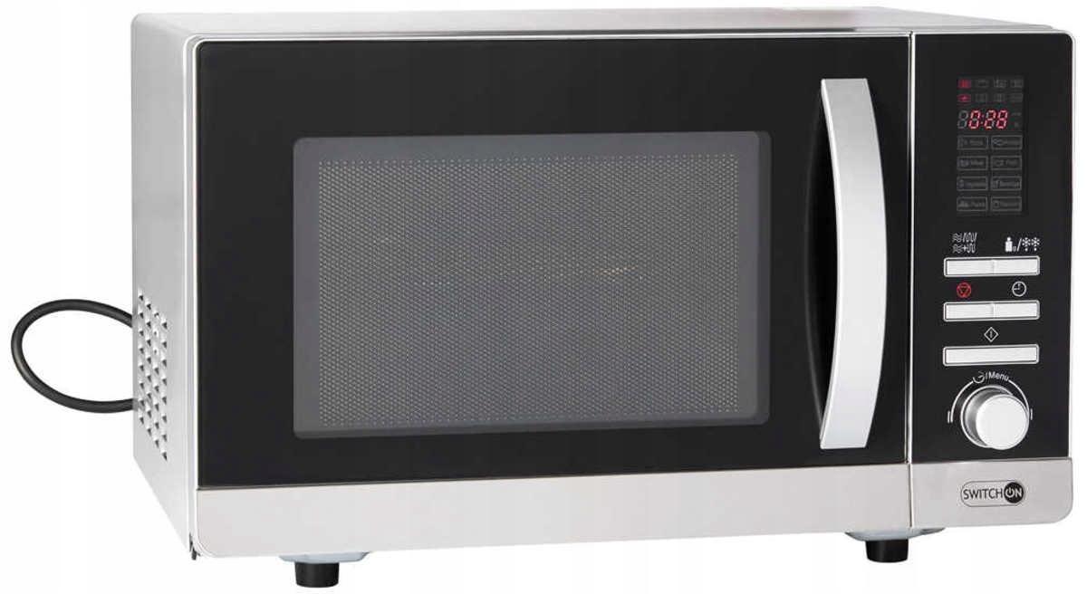 Kuchenka mikrofalowa z grillem 1000/800W SwitchOn MW-G0001 (Kaufland, ul. Wielicka)