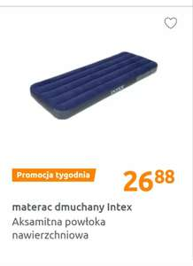 Materac dmuchany Intex jednoosobowy Action