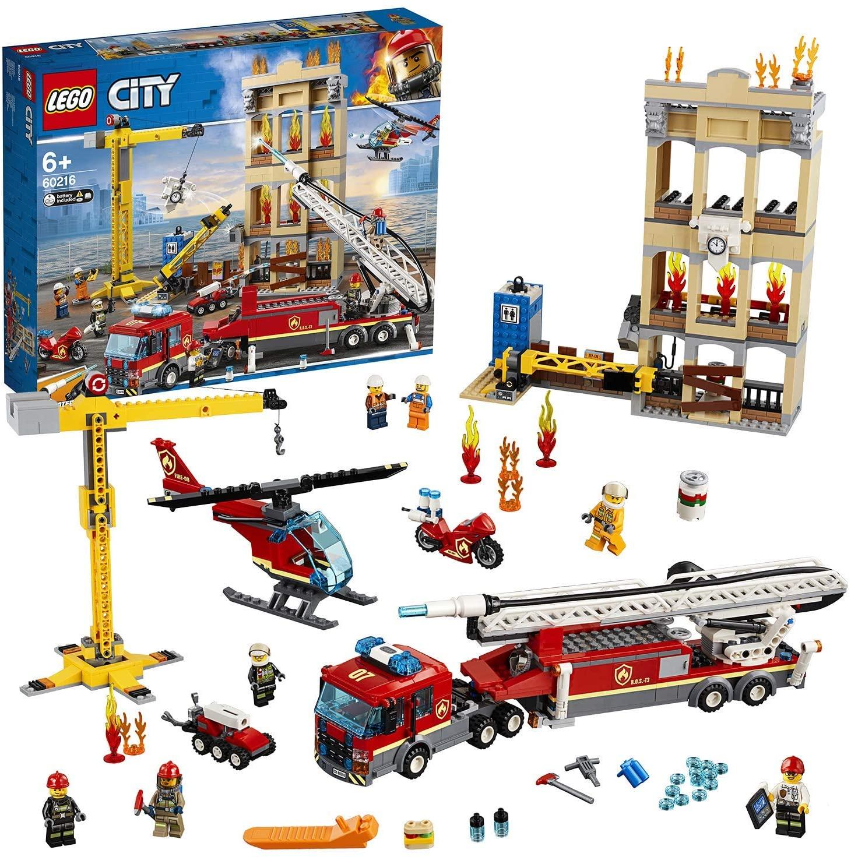 LEGO® 60216 City - Straż pożarna w śródmieściu