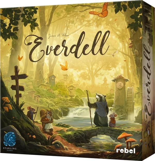 Dobra planszówka Everdell taniej