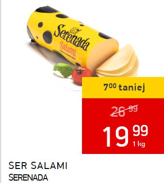 Ser żółty salami Serenada za 1 kg