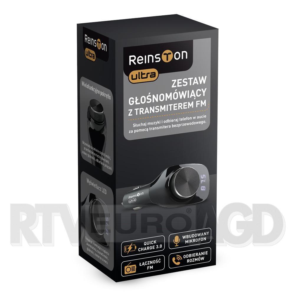 TRANSMITER FM REINSTONE TRA01 taniej o 38% - kod rabatowy