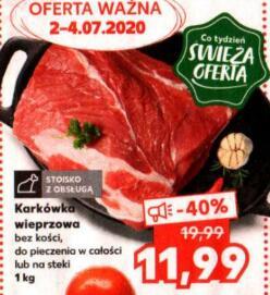 Karkówka wieprzowa 1 kg @Kaufland