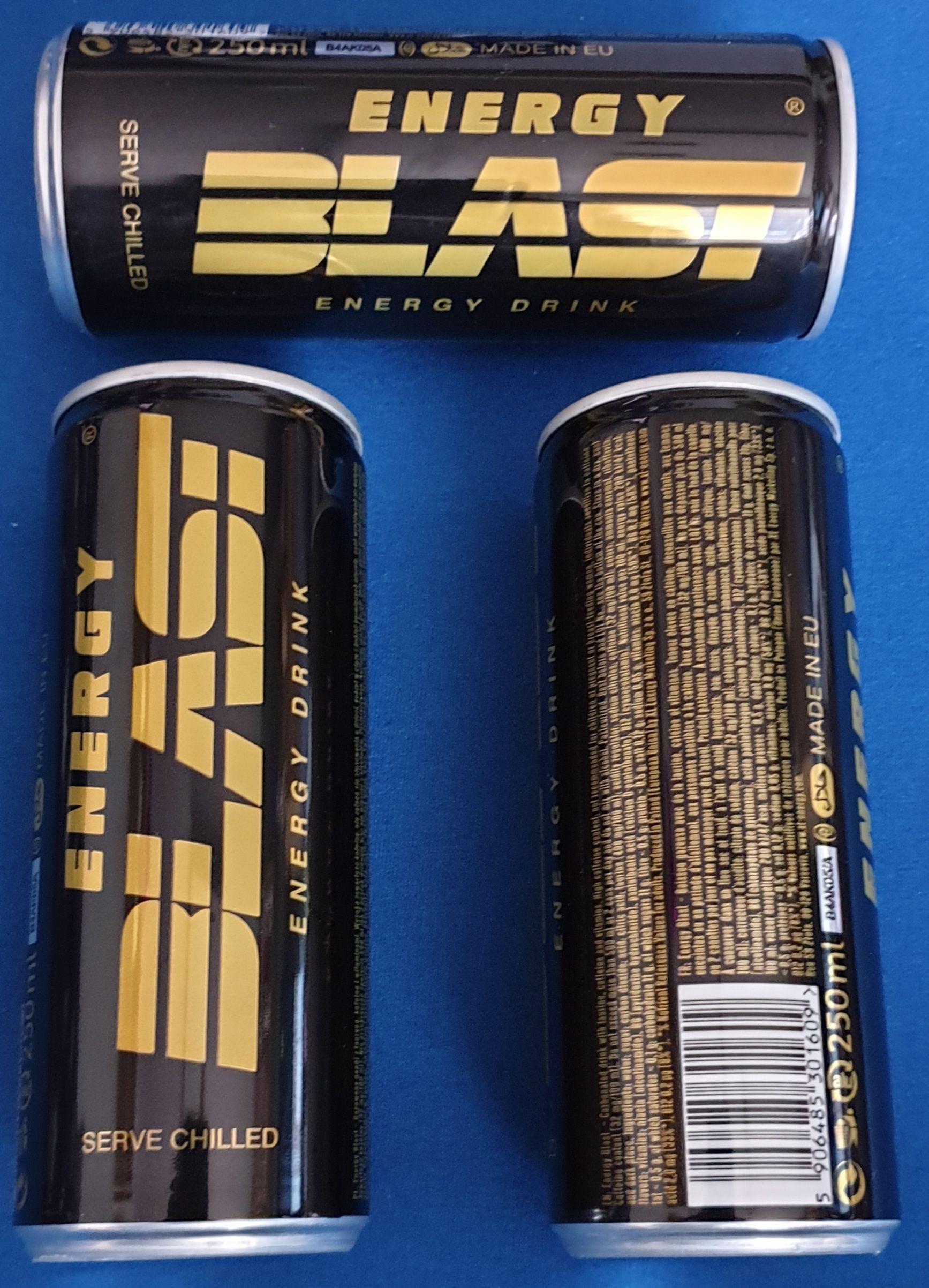 Energy drink Blast 250 ml sklep Merkus