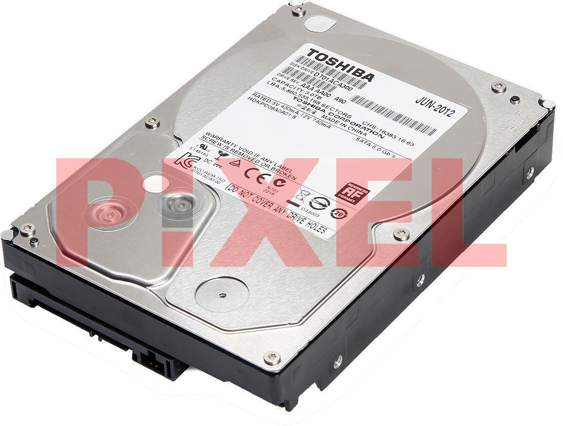 TOSHIBA 3TB 3.5' 7.2K SATA 6GB/S 64MB