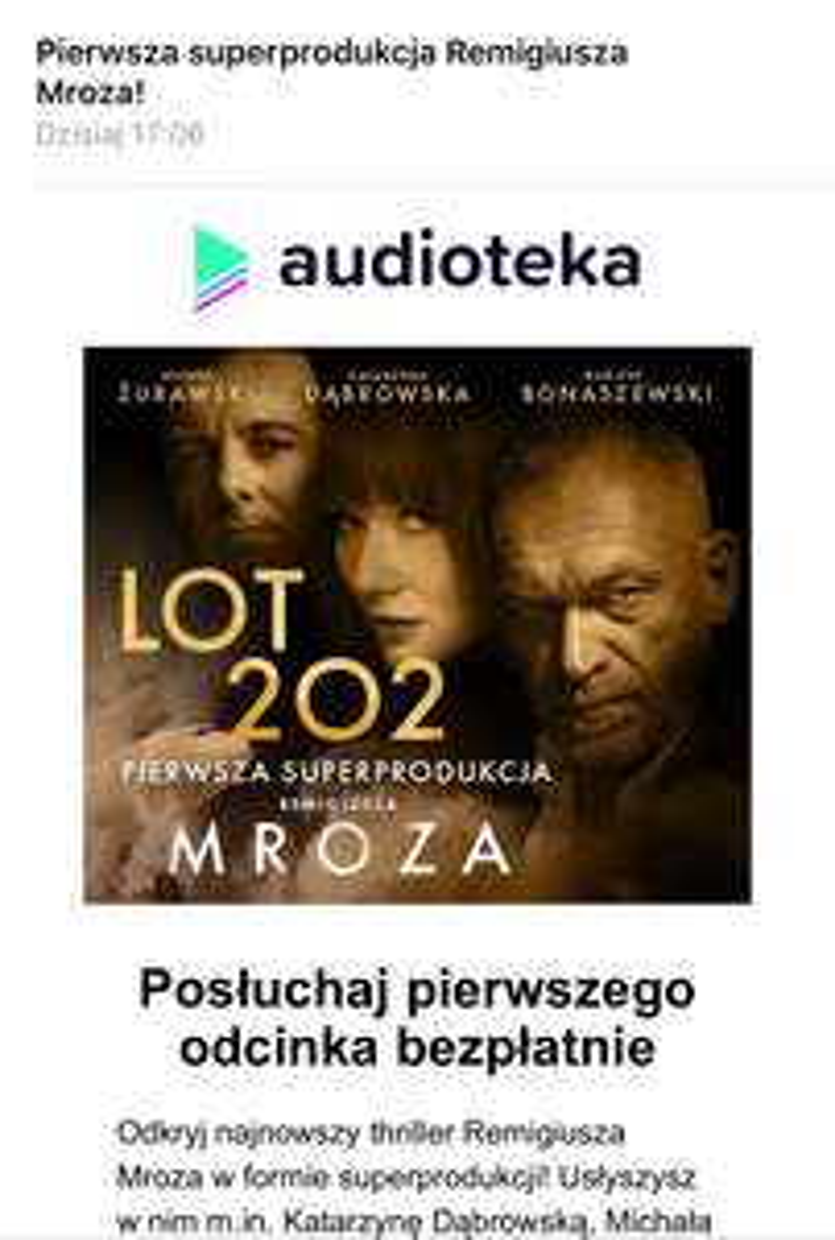 """Lot 202"" Remigiusz Mróz Audiobook Audioteka"