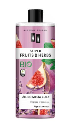 AA SUPER FRUITS&HERBS żel do mycia ciała