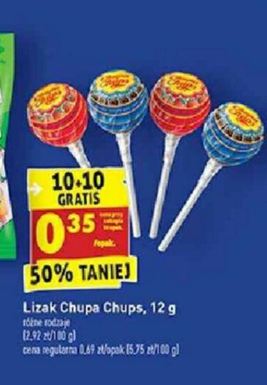 Lizaki Chupa Chups 10+10 - Biedronka
