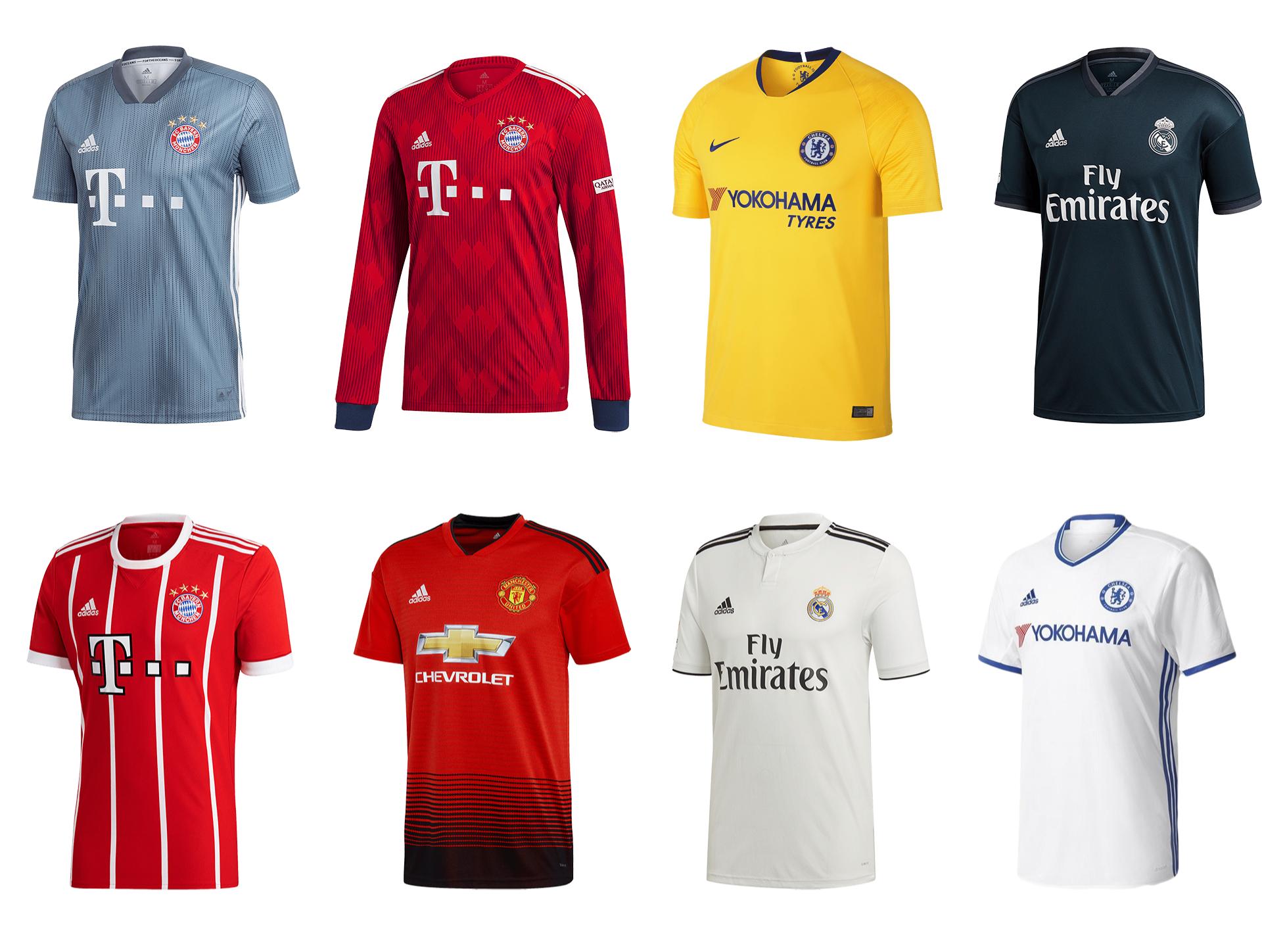 Repliki piłkarskich koszulek do 70% taniej w ZgodaFC (np. Bayern Monachium 17/18 za 159,99 zł))