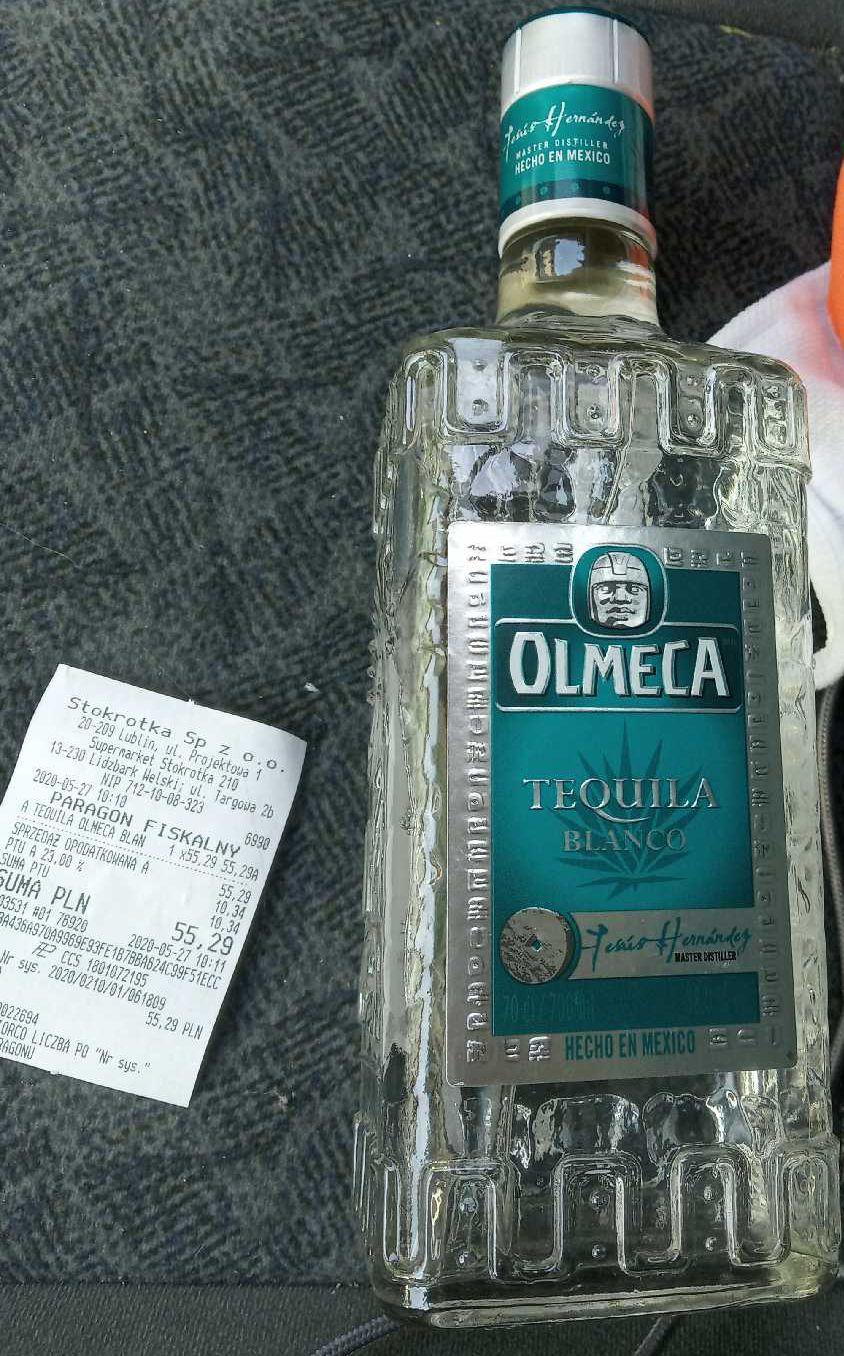 Tequila Olmeca Silver 0,7l Stokrotka Lidzbark Welski