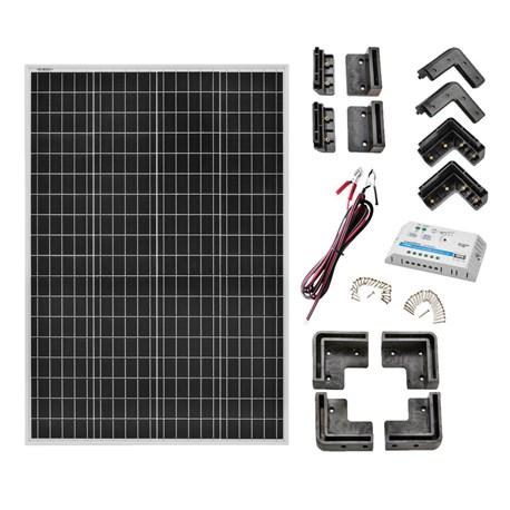Pakiet paneli słonecznych (do kempingu, kampera czy łodzi) @Jula