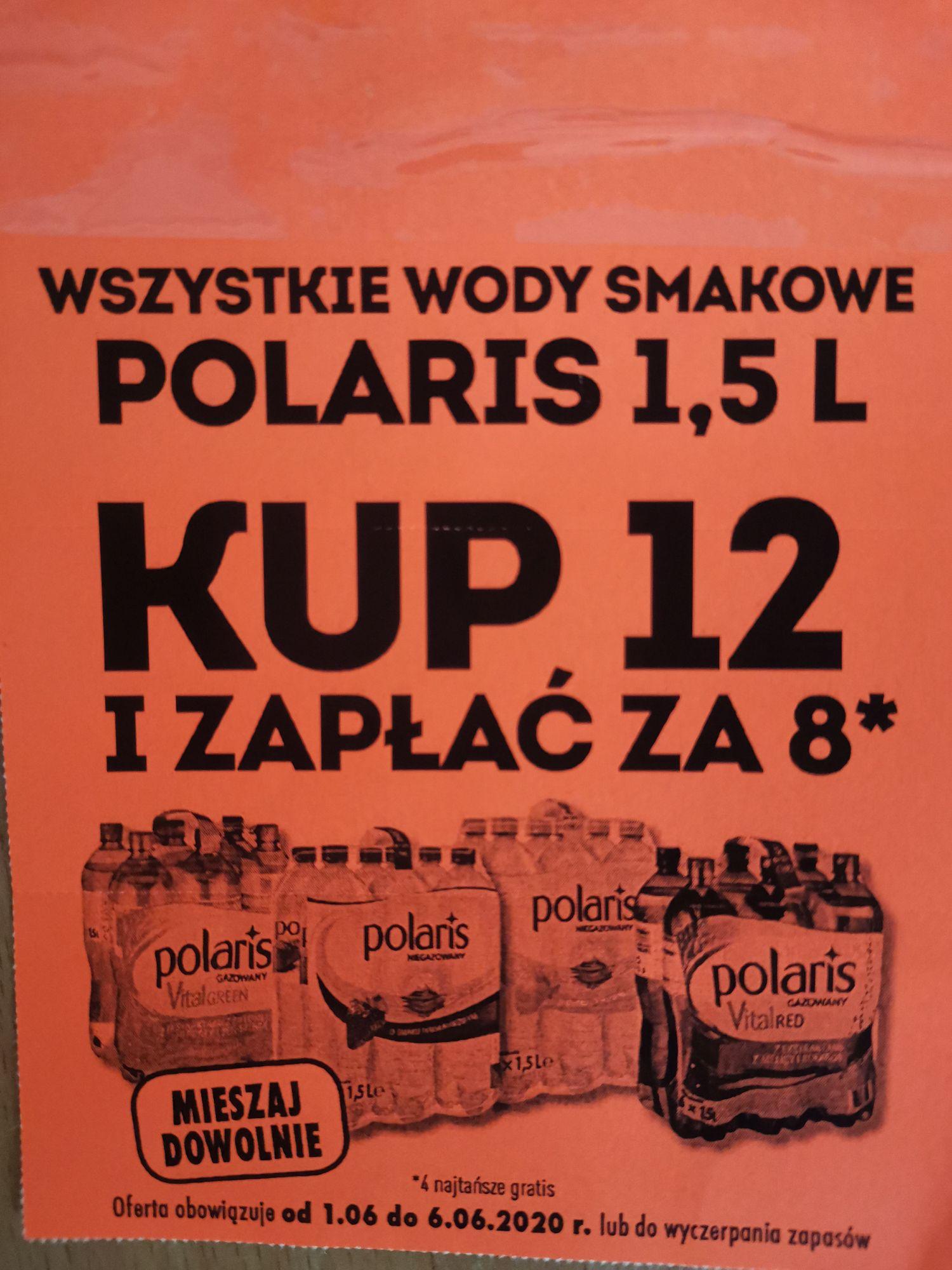 Polaris 1,5l wszystkie smaki BIEDRONKA