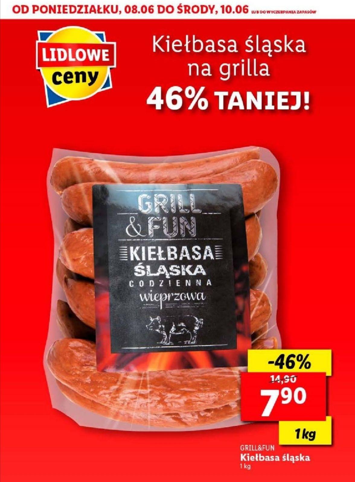 Kiełbasa Śląska 1 kg. Lidl