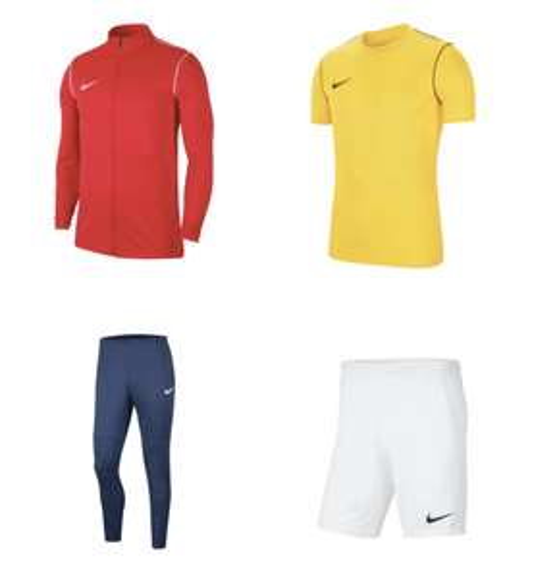 4-częściowy zestaw treningowy Nike Park 20 @geomix