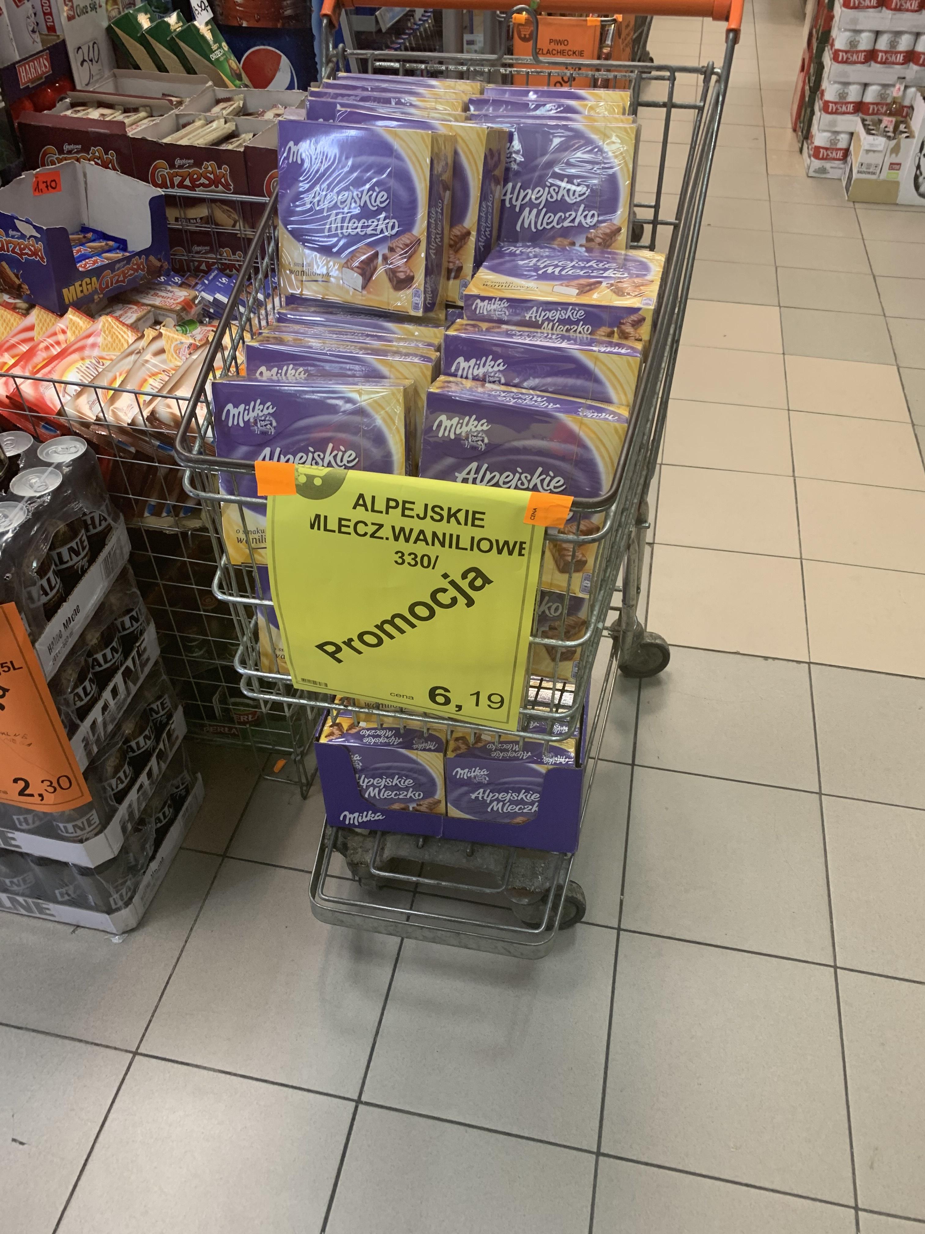 Alpejskie Mleczko waniliowe - Groszek
