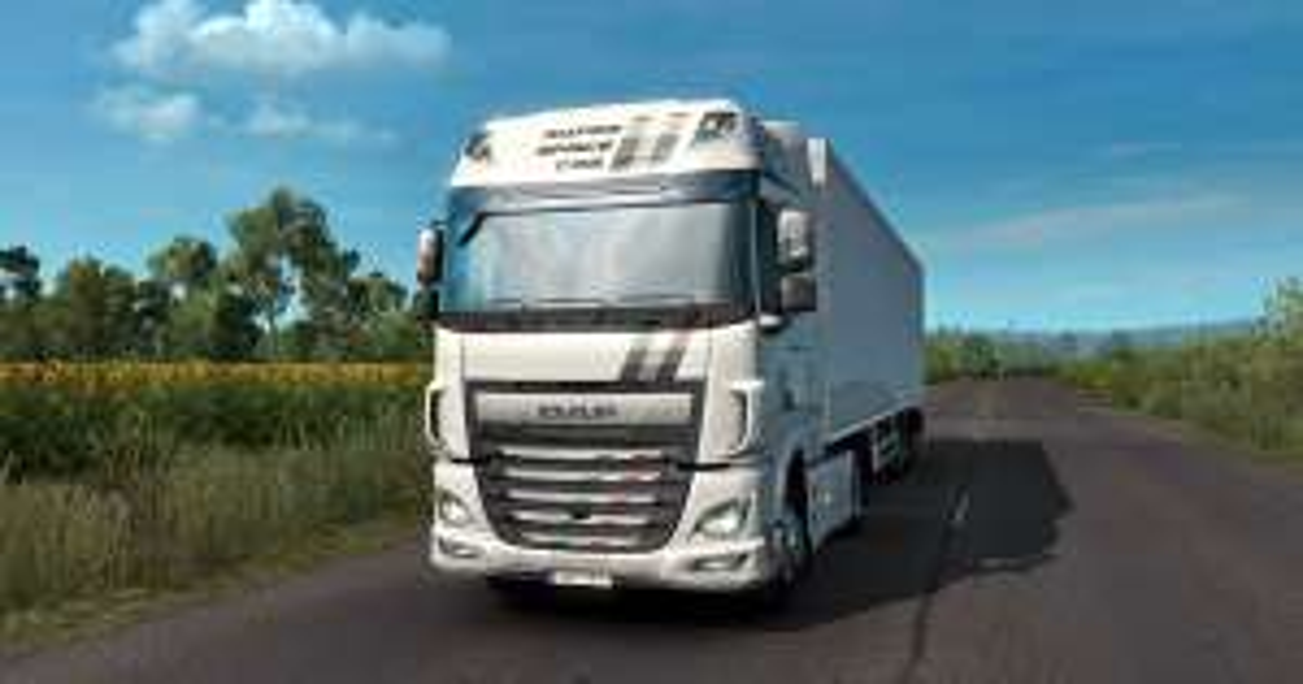 Euro Truck Simulator 2 - DAF XF Tuning Pack za darmo