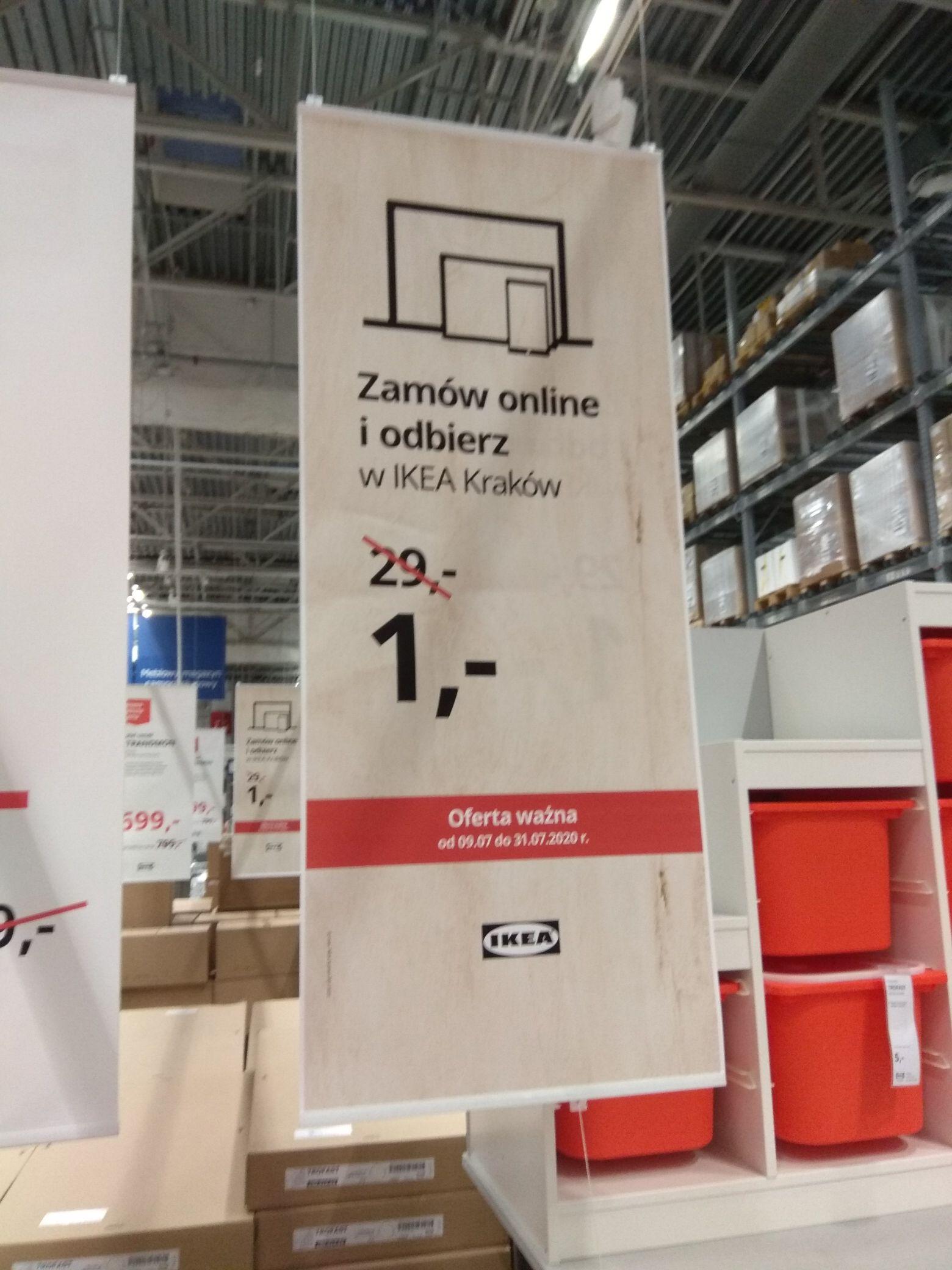 Odbiór zamówienia Ikea Kraków