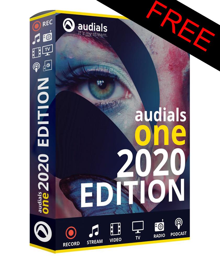 Audials One 2020 Edition program do legalnego pobierania muzyki z tysięcy źródeł
