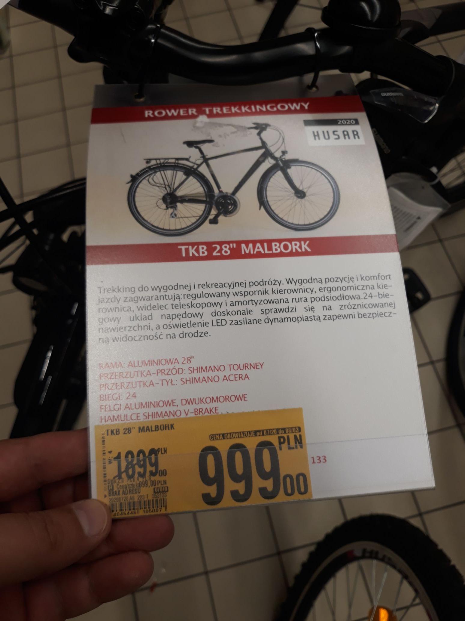 Rower TKB 28 Malbork @Auchan