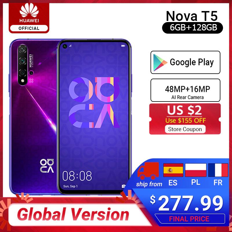 Huawei Nova 5t 8/128 Gb z Aliexpress Wysyłka z Polski!
