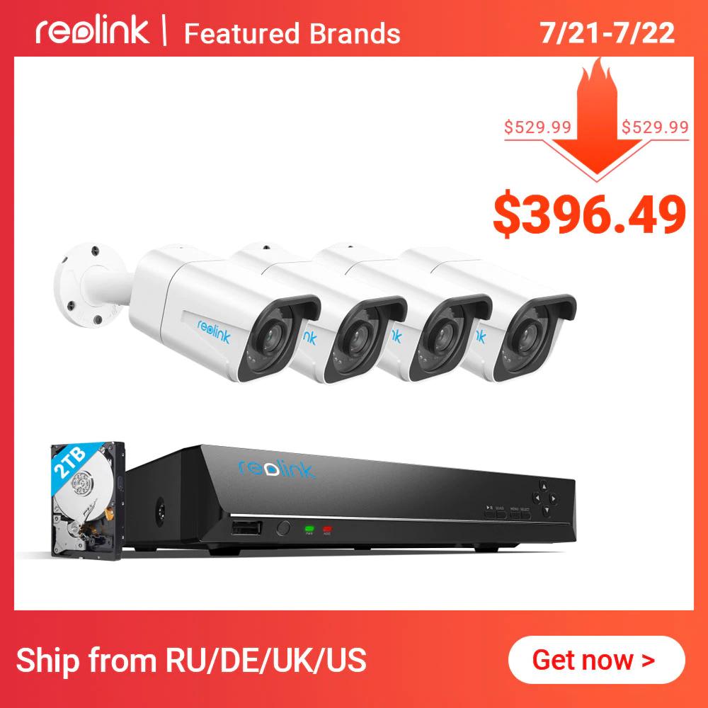 Kamera zewnętrzna Reolink RLK8-800B4 - 8MP 4K Ultra HD