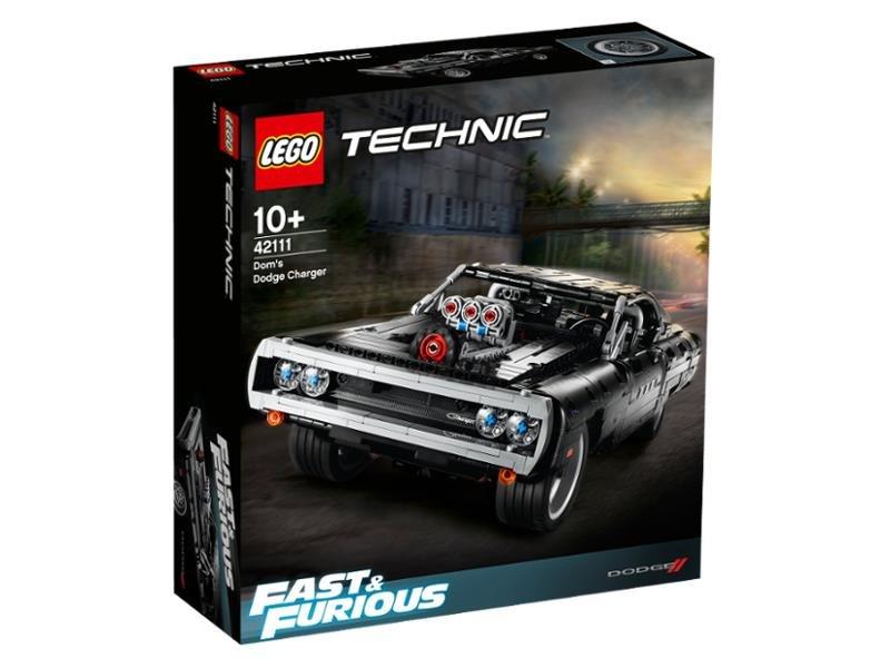 -10% na wszystkie zestawy LEGO Technic / Dom's Dodge Charger