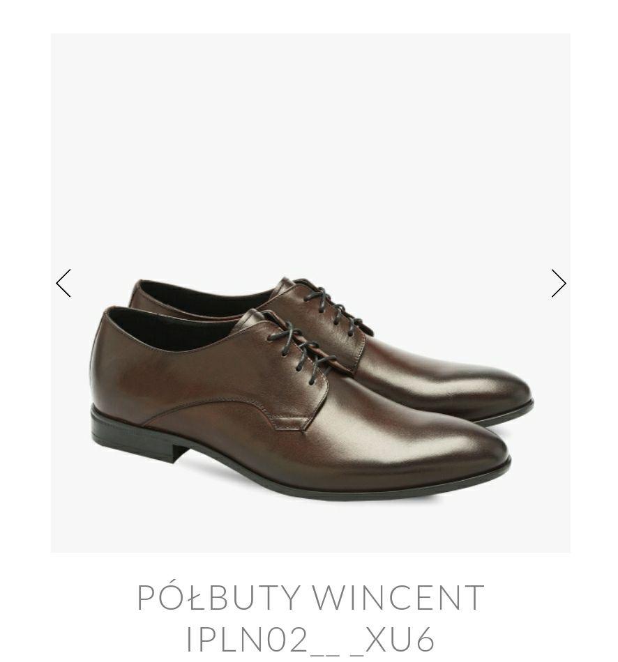 RYŁKO - Eleganckie męskie buty wizytowe do granituru