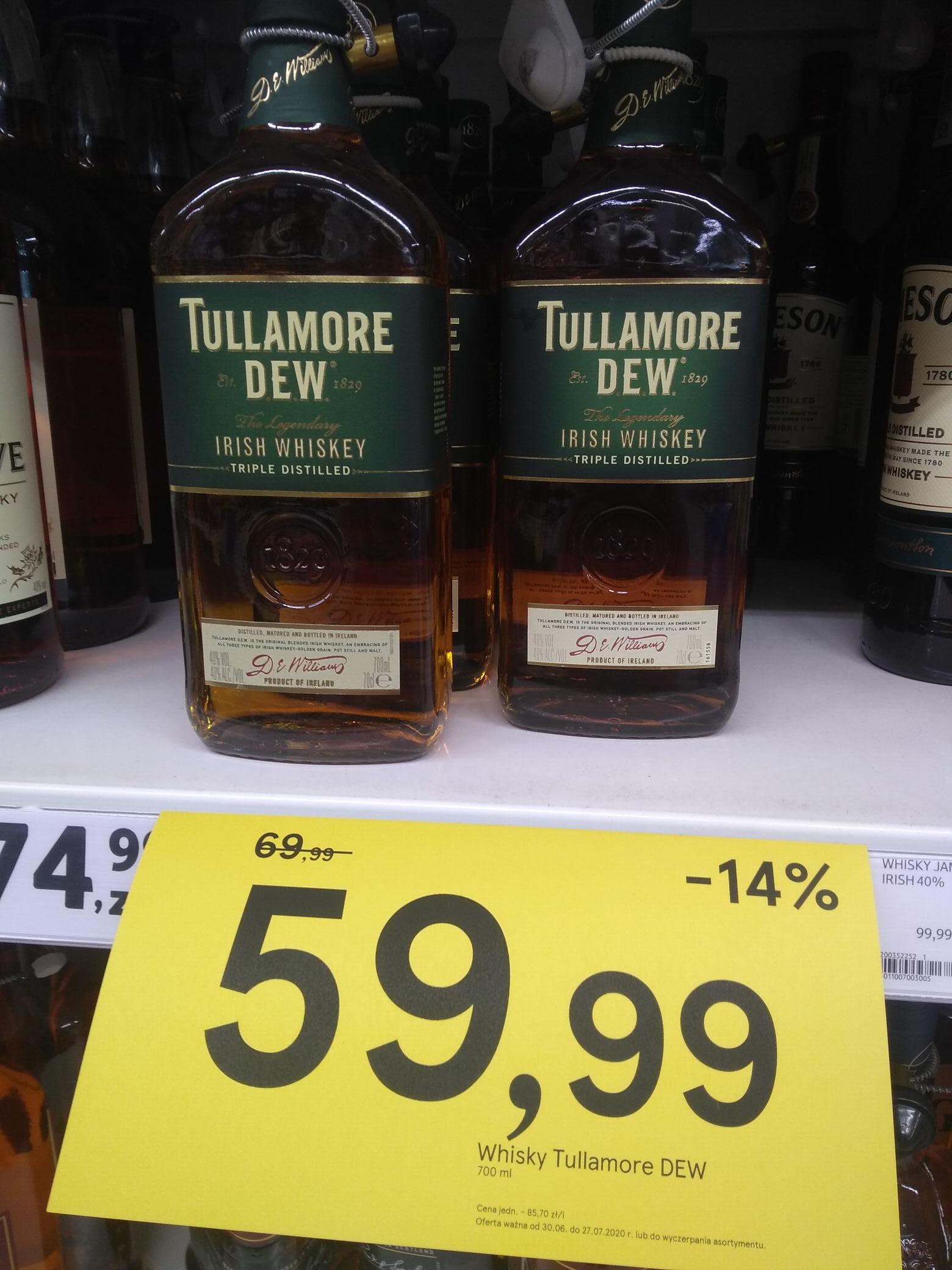 Tesco Whisky Tullamore DEW 0,7 l