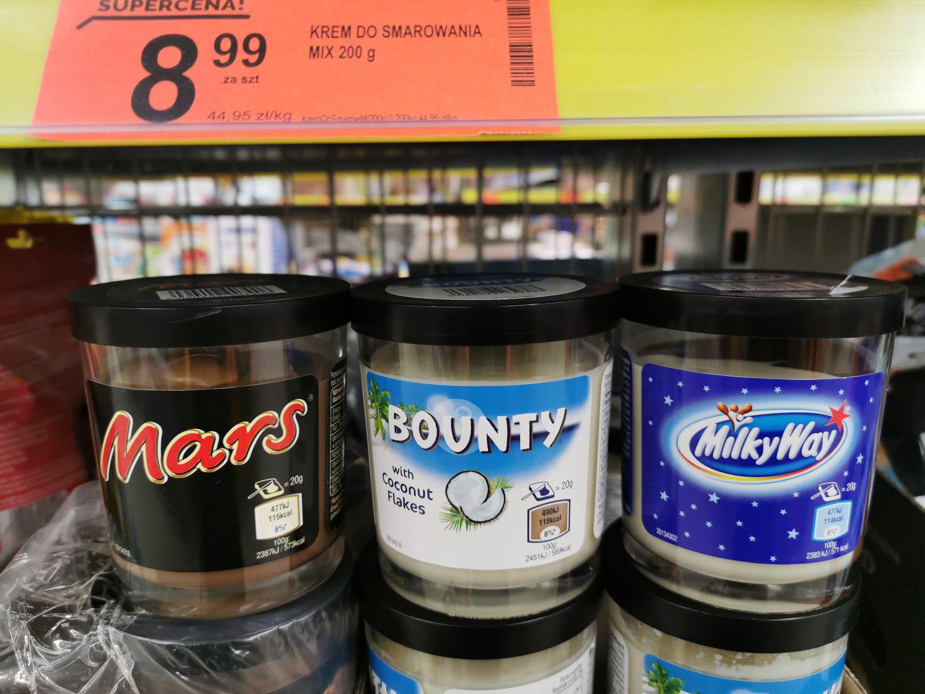 Kremy Bounty / Milky Way / Mars