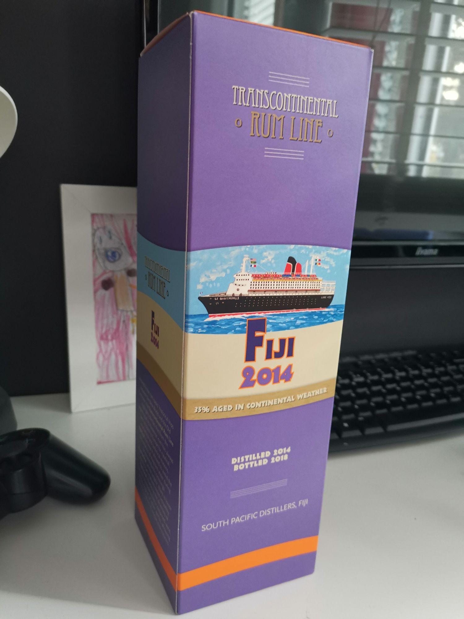 Rum Transcontinental Rum Line Fiji 2014 0,7 AUCHAN