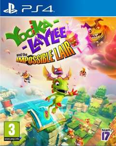 Yooka-Laylee and the Impossible Lair PS4 i Xbox One