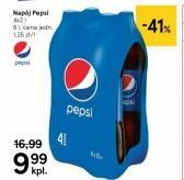 Napój Pepsi 4x2 l @Tesco