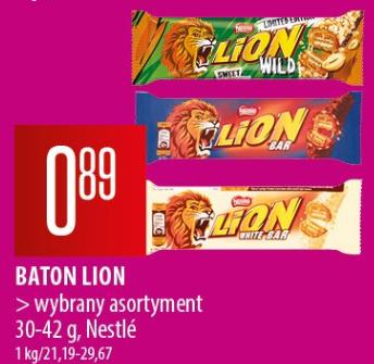 Baton Lion Wild Limited i inne 0,89 zł/szt. Chata Polska