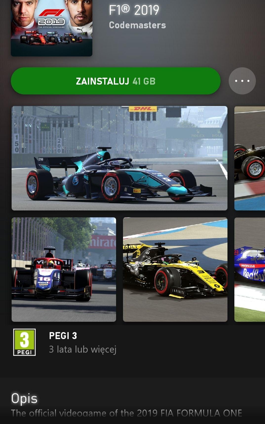 F1 2019 od dzisiaj w Xbox Game Pass + PC